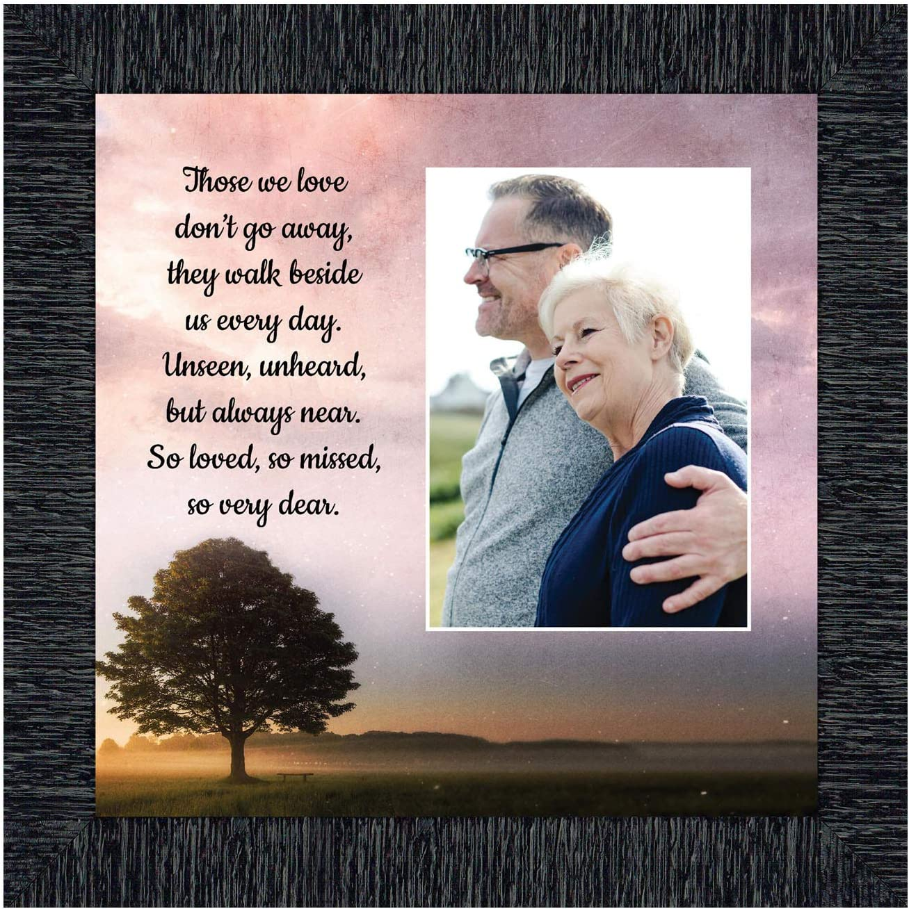Those We Love Sympathy Gift Picture Frames, Memorial Gifts for Your Condolence Gift Baskets and Sympathy Cards, Bereavement Gifts, in Memory of Loved One, Framed Home Décor, 6433CH