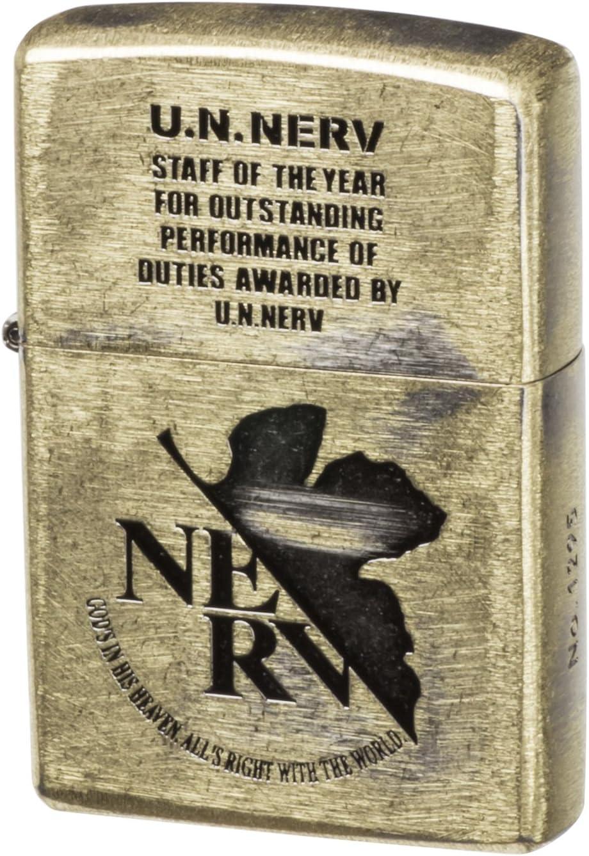 Amazon.com: Zippo Evangelion U.N. NERV Award Ver.: Sports ...