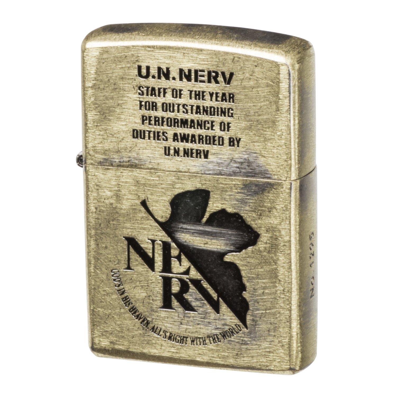 Zippo EVANGELION U.N.NERV AWARD Ver.