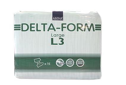 ABENA Delta Form L3 - Pañales para adultos (talla L)