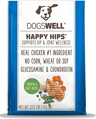 DOGSWELL Vitality Dry Dog Food with Vitamins Essential Fatty Acids, Chicken Oats Recipe