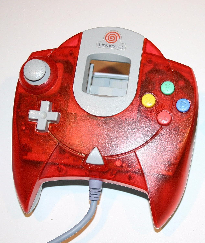 Sega Dreamcast Controller - Red: Video Games