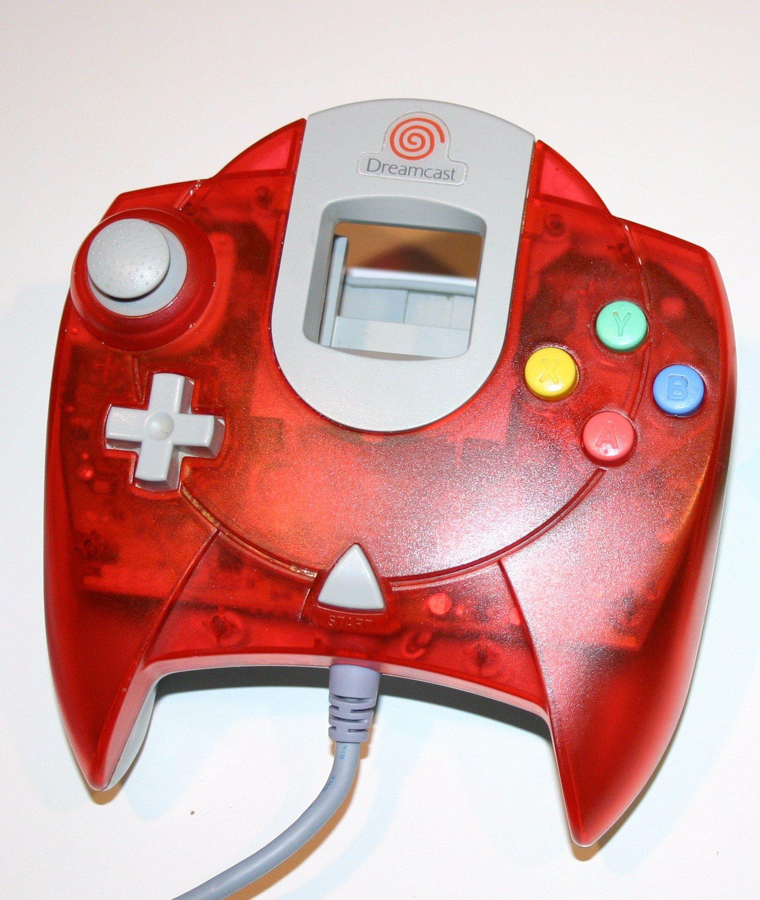 Sega Dreamcast Controller - Red