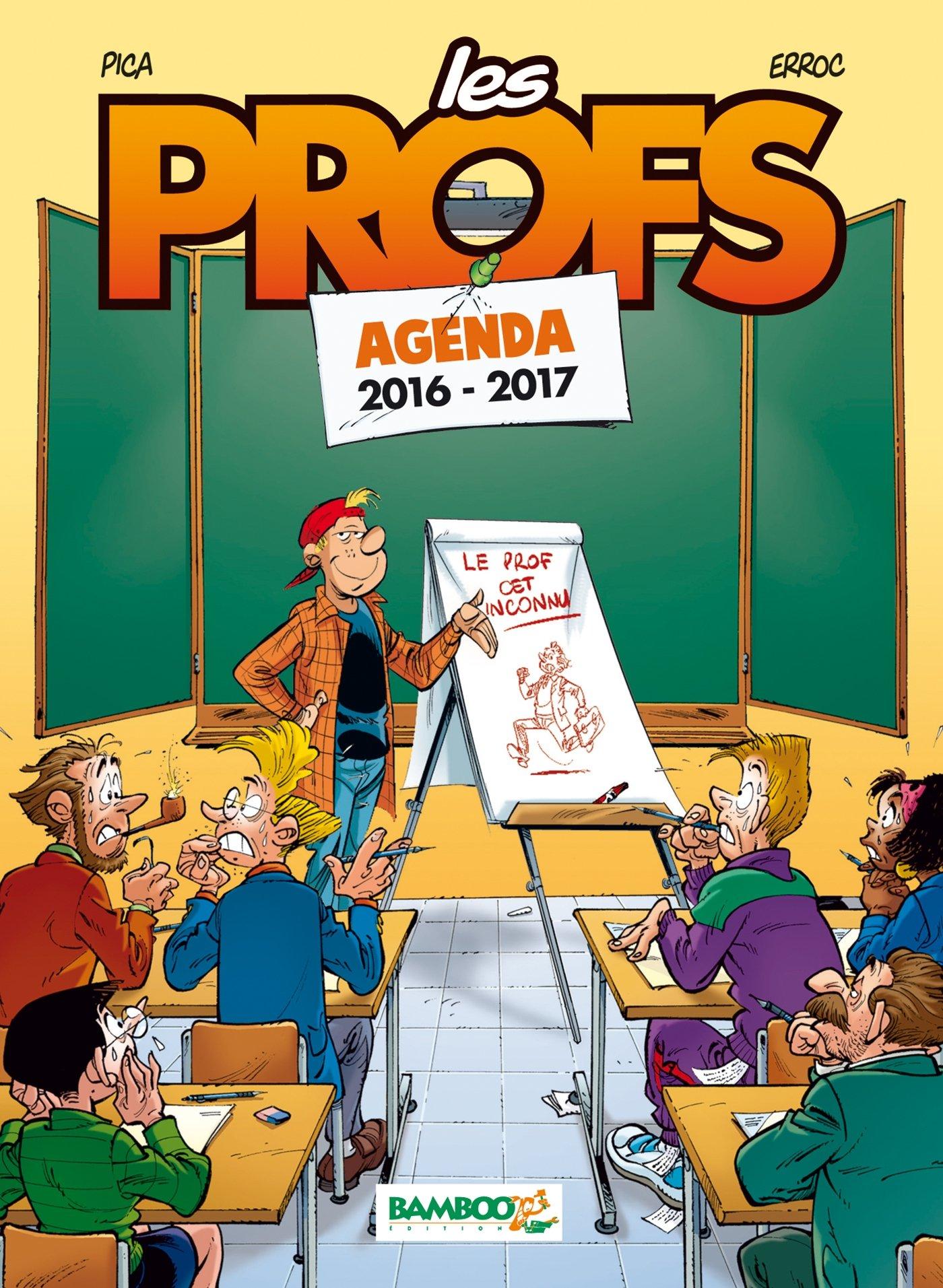 les profs agenda 2016 - 2017 (BAMB.LES PROFS): Amazon.es ...
