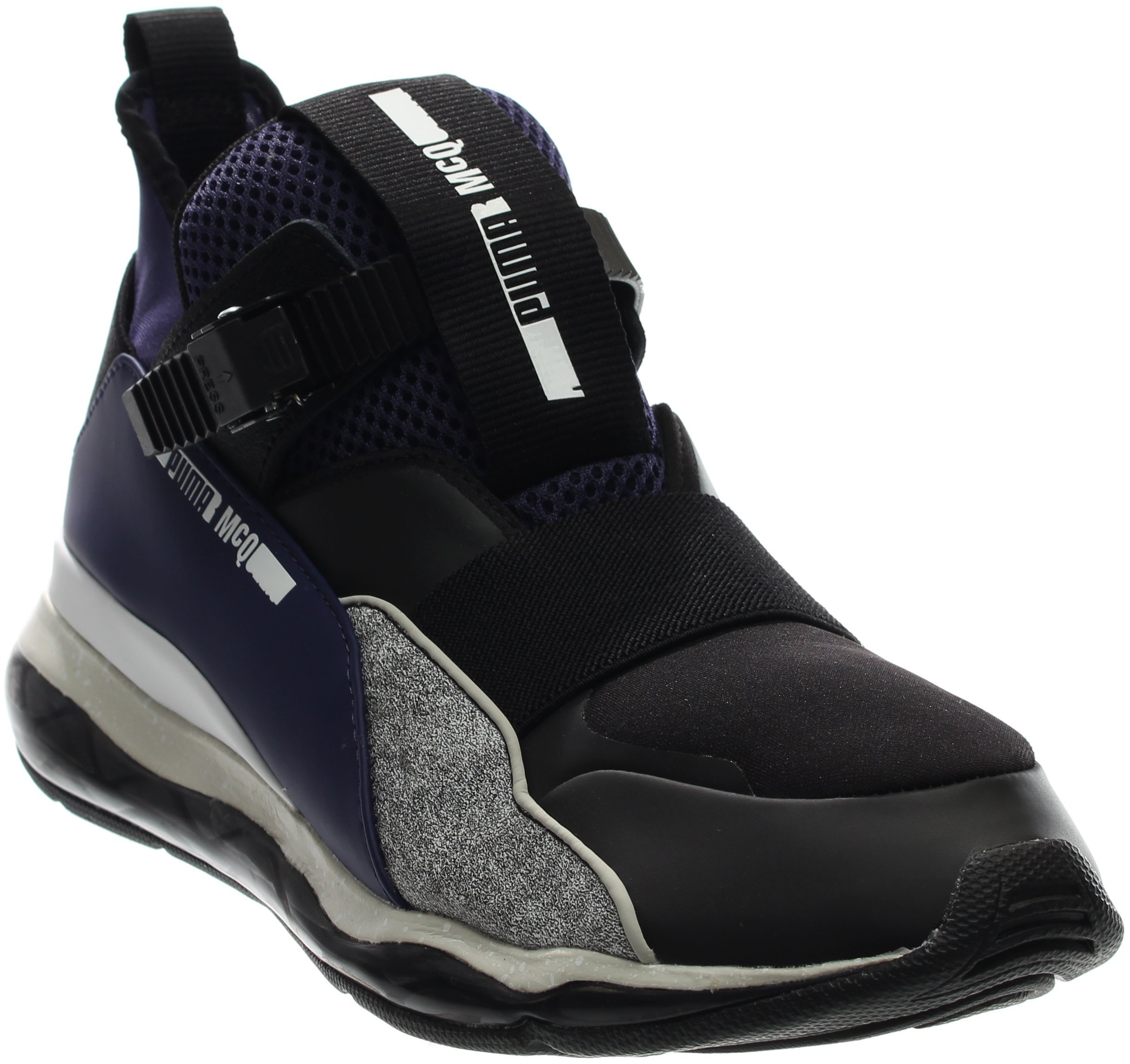 Alexander McQueen By Puma Cell Mid Men US 11 Blue Sneakers