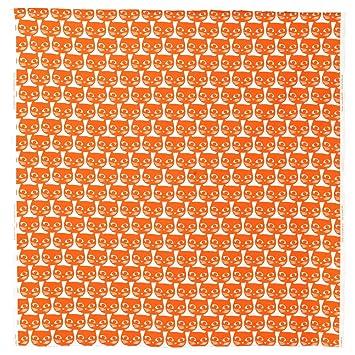 Ikea Stoffe Meterware ikea meterware mattram katzen orange breite 150 cm 1 m stoff