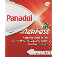 Panadol Actifast for Fast Pain Relief, 20ct