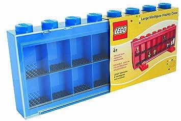 Sablon 106 004 1 Lego Minifiguren Schaukasten Groß Für 16 Figuren Blau