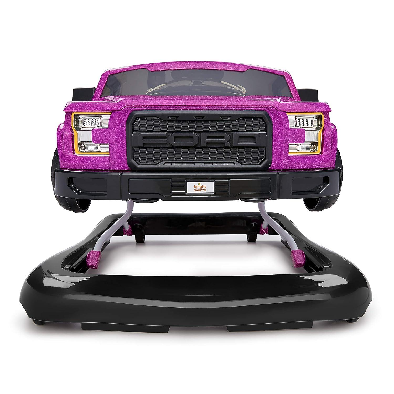 ni/ñas color magenta el/éctrico Bright Starts Ford F-150 Raptor Andador