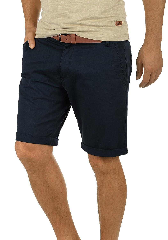 !Solid Montijo Short Chino Bermuda Pantalon Court pour Homme avec Ceinture Extensible Coupe Regular