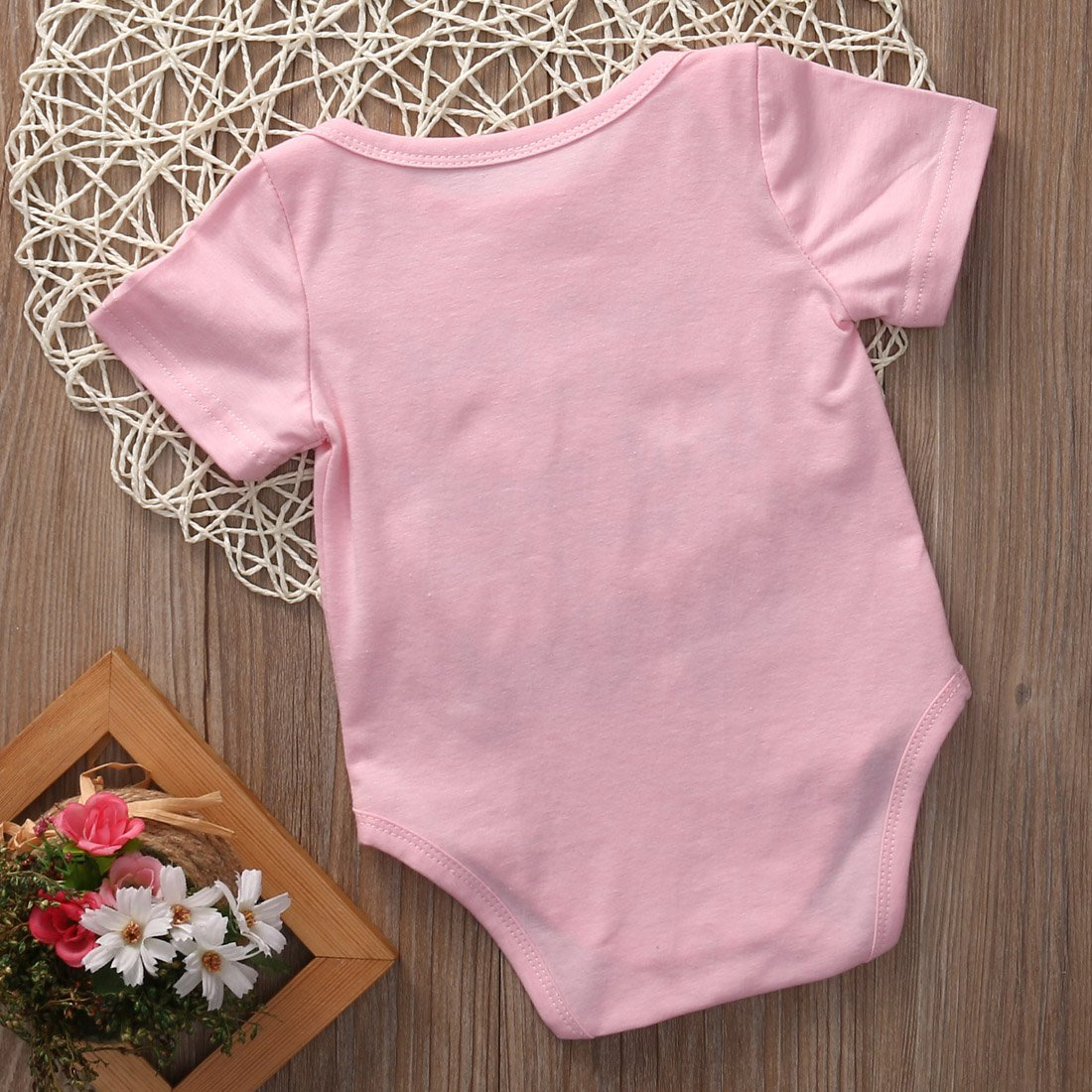 Bulingna Newborn Baby Girls Dont Look at me That Smell is Coming from My Dad Funny Bodysuit Shirt