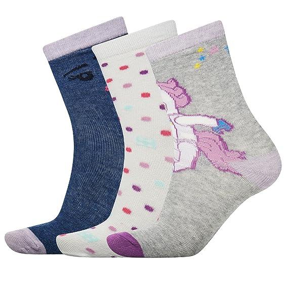 LEGO Wear Girl Agata 103-Socken im 3-er, Calcetines para Niñas,