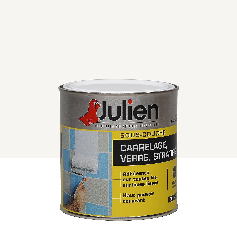 Souscouche JULIEN Pour Verre Stratifié Carrelage Mural Blanc - Peinture sous couche carrelage