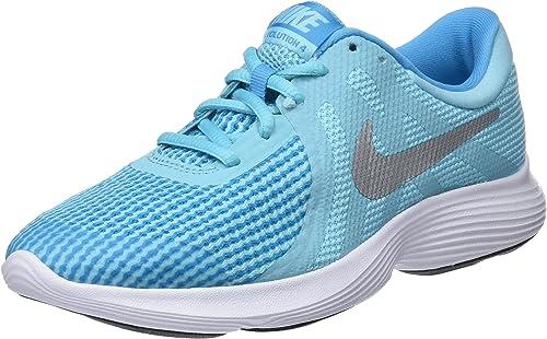 Nike Zapatillas Revolution 4 (GS), Deporte para Mujer, Multicolor ...