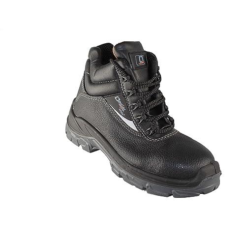 Opsial - Calzado de protección de Piel para hombre: Amazon.es: Zapatos y complementos