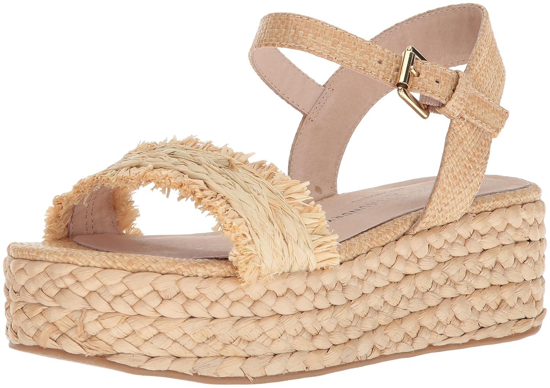 Chinese Laundry Women's Ziba Espadrille Wedge Sandal B07888DT5Y 9.5 B(M) US|Natural Straw