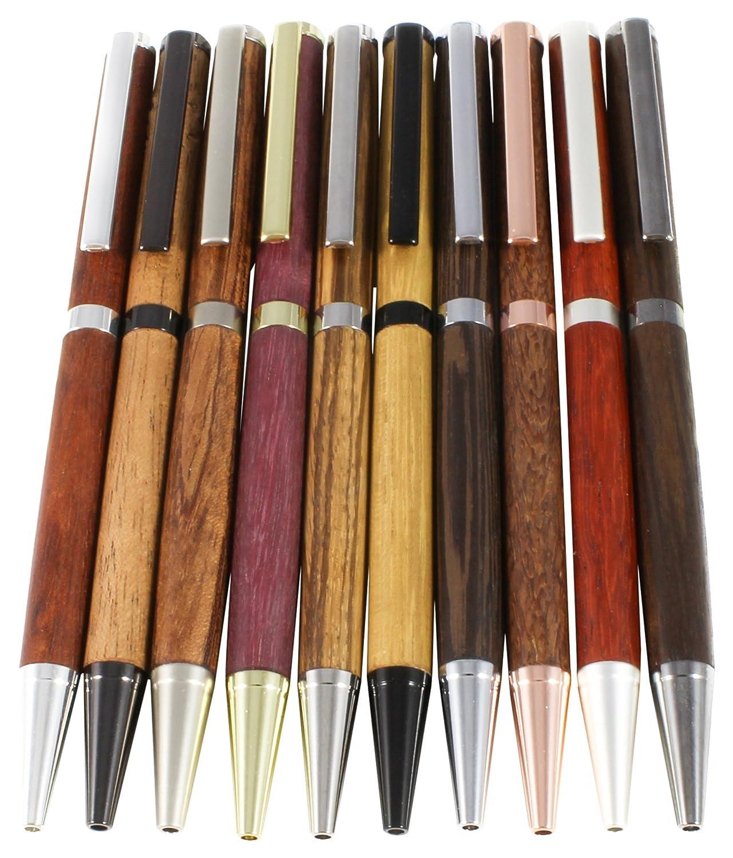 Slimline Pen Kit 10 Pack Mix
