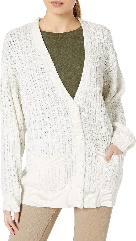 Goodthreads Damen Boucle Half Stitch Cardigan Sweater Marke