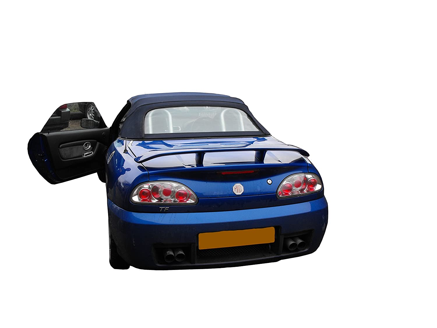FULL SET GENUINE MG-ROVER MGF MUD FLAPS FRONT AND REAR C//W FITTING KIT NOT MGTF