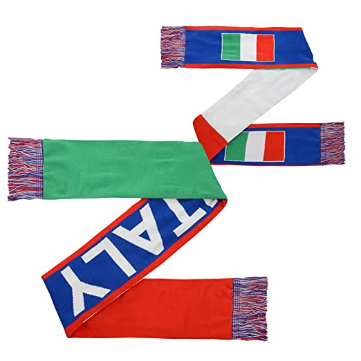 sneakers for cheap 331d6 a3732 Italy World Cup Soccer 3 Flag Scarf Italian Football ...