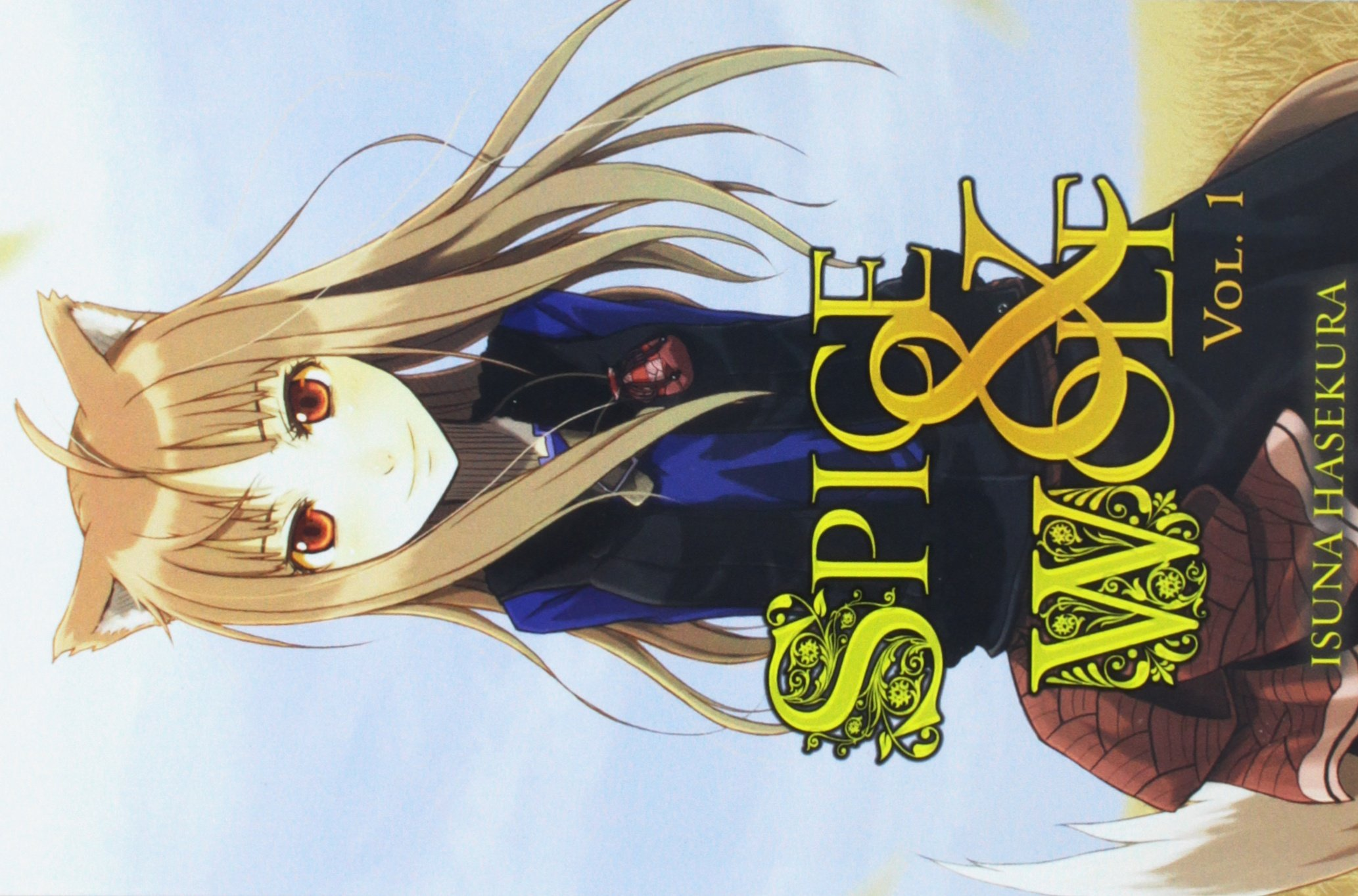 Spice And Wolf Vol 1 Light Novel Amazon Co Uk Isuna Hasekura