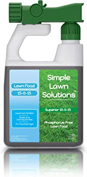 Simple Lawn Solutions Superior Concentrated Spray Organic Lawn Fertilizer