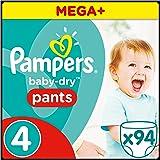 Pampers Baby-Dry Pants Gr.4, 8-15 kg, 94 Windeln, 94 Stück, 1 Packung=1 Impfdosis