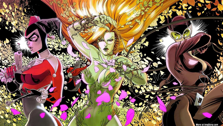 Posterhouzz Comics Gotham City Sirens Harley Quinn Poison Ivy