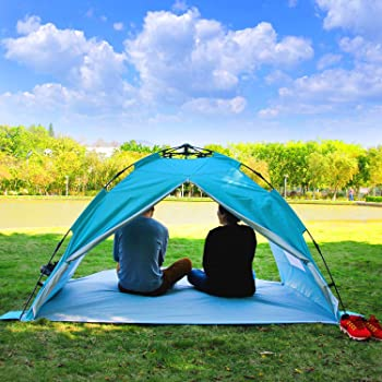 ALPIKA 2-3 Person UV Protection Easy Setup Tent