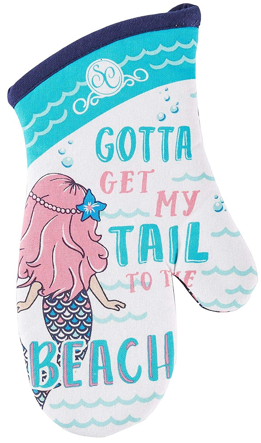 "Kay Dee Designs Southern Couture Mermaid Oven Mitt, 13"", Various"