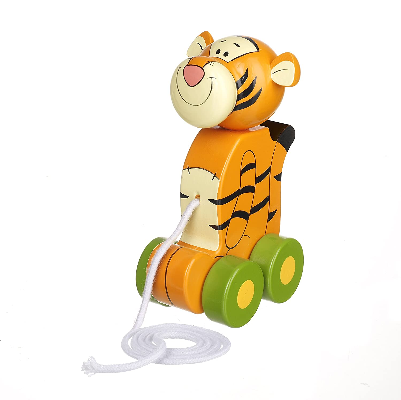 Orange Tree Toys Disney Tigger Winnie-The-Pooh Pull Along