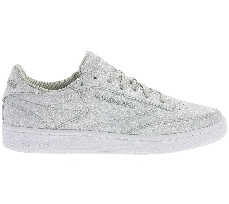 Reebok Women s Club C 85 Syn Fitness Shoes Silver  Amazon.co.uk  Shoes    Bags 04efbc092