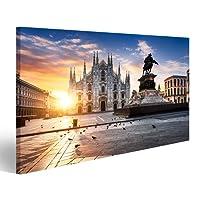 Quadro moderno BPA Mailand Italien Milano Stampa su tela - Quadro x poltrone salotto cucina mobili ufficio casa - fotografica formato XXL