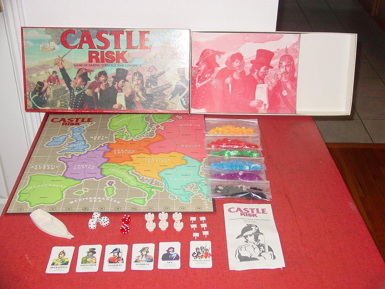 Castle Risk by Parker Brothers: Amazon.es: Juguetes y juegos