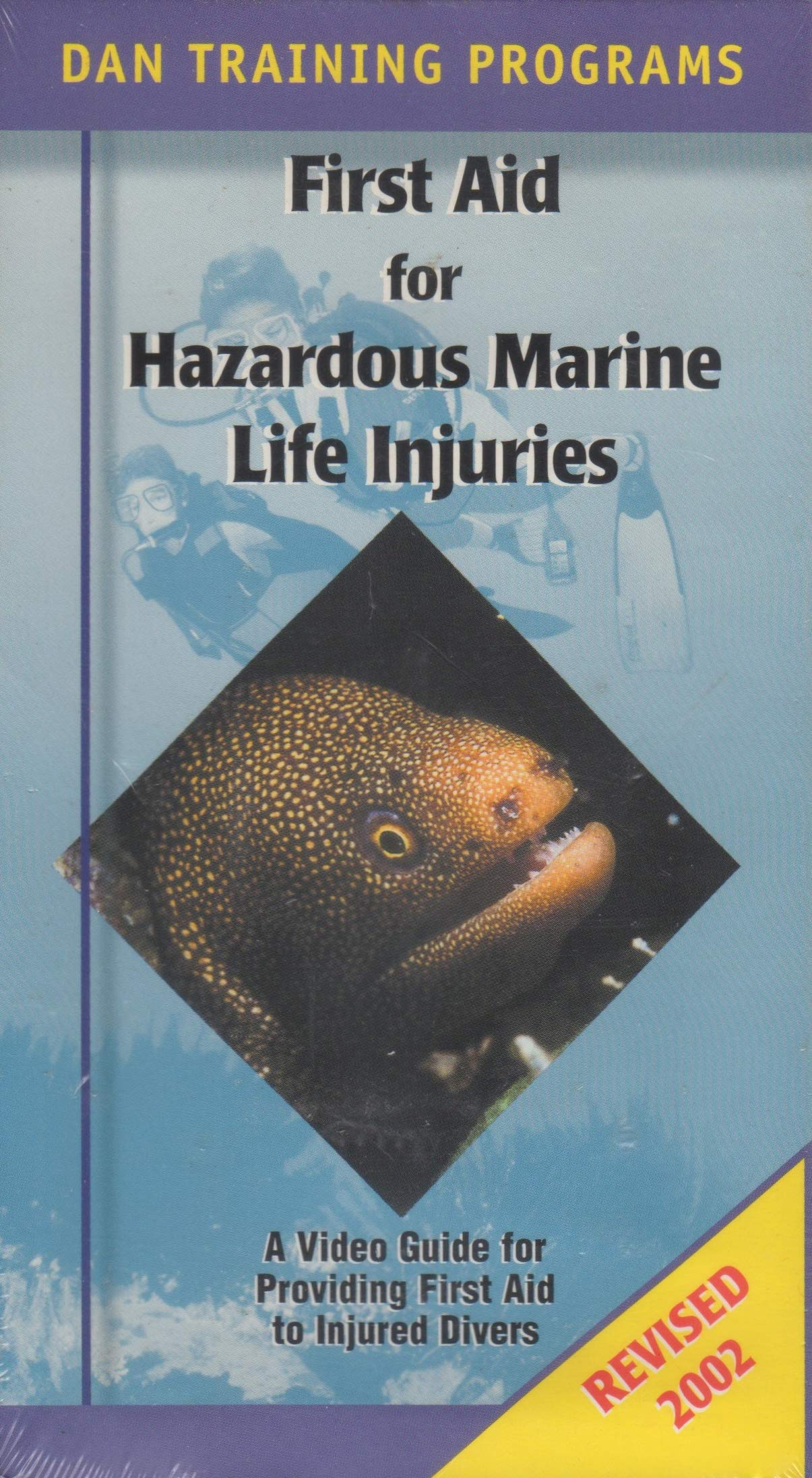 DAN Guide to Hazardous Marine Life: A Video Guide for First Aid Training for Injuries Caused by Hazardous Marine Life (Divers Alert Network Series) [VHS Video] by Divers Alert Network