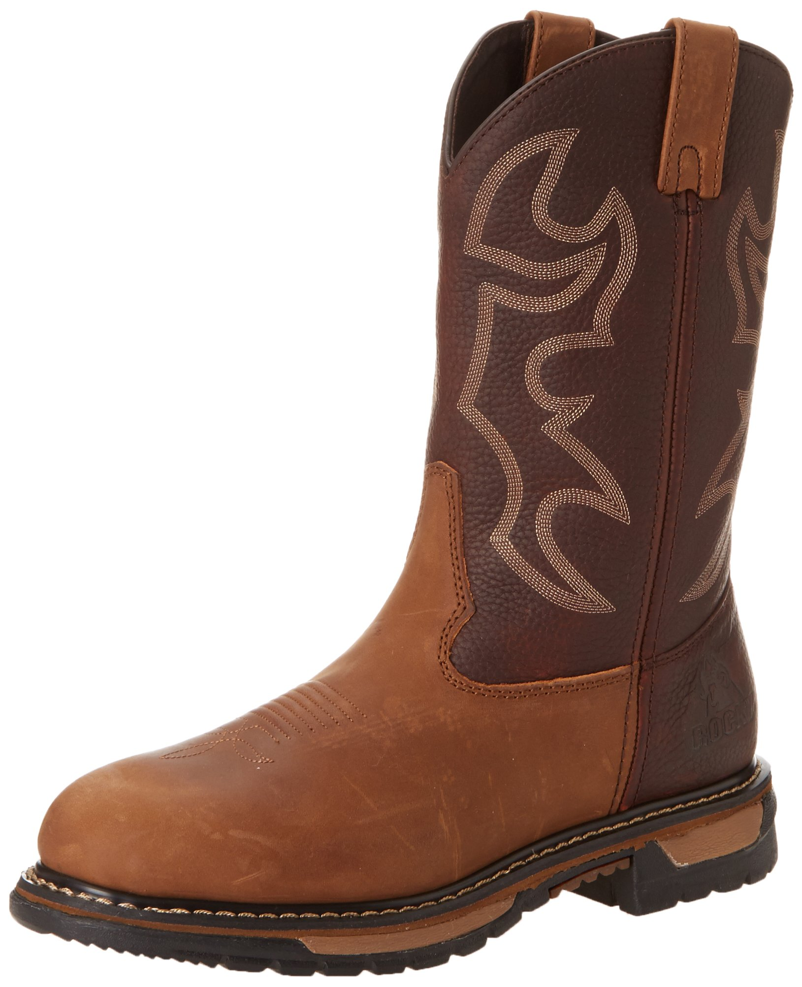 Rocky Men's Original Ride Bridal Work Boot,Crazy Horse,9 W US