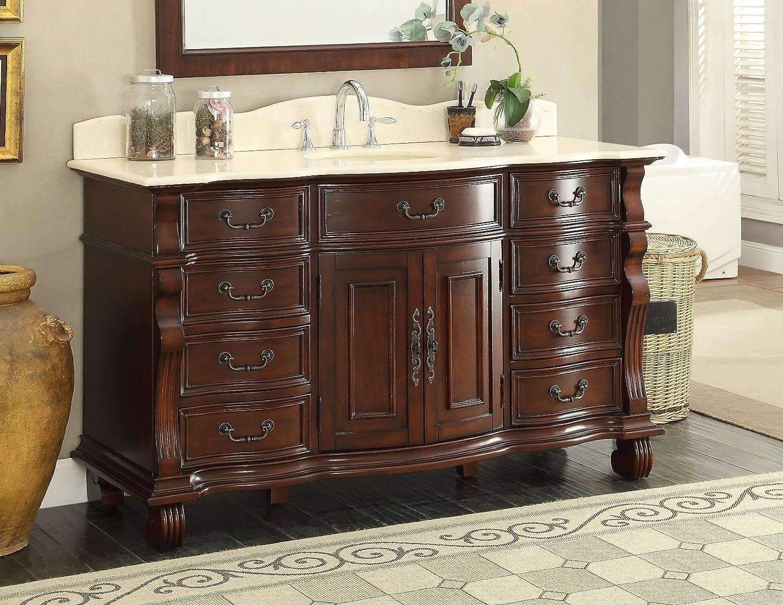 Large Single Sink Bathroom Vanity Cabinet Model Gd