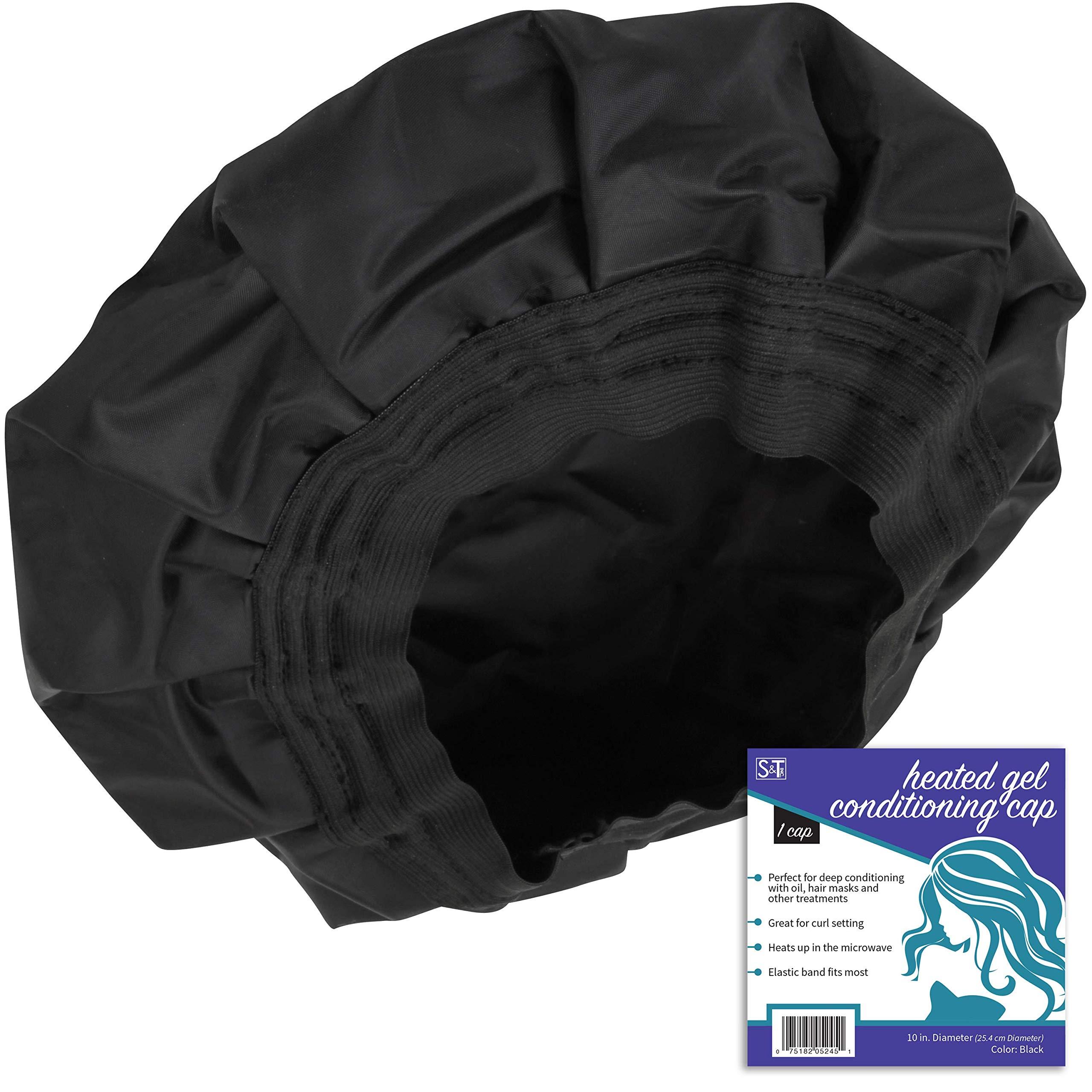 S & T 524501 Cordless Heated Deep Conditioning Cap Black