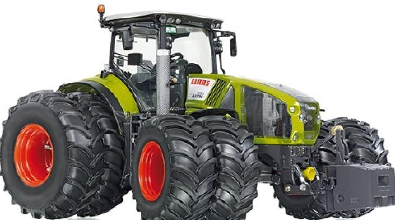 Wiking 7328 - Traktor Claas Axion 950 Zwillingsbereifung [並行輸入品]