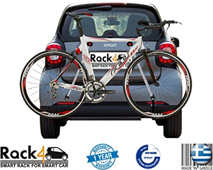 coupe 2 Bicycles rack for Smart Fortwo 451 cabrio black