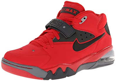 Nike Air Force Max 2013 Mens Basketball Shoes 555105-600 University Red 10  M US