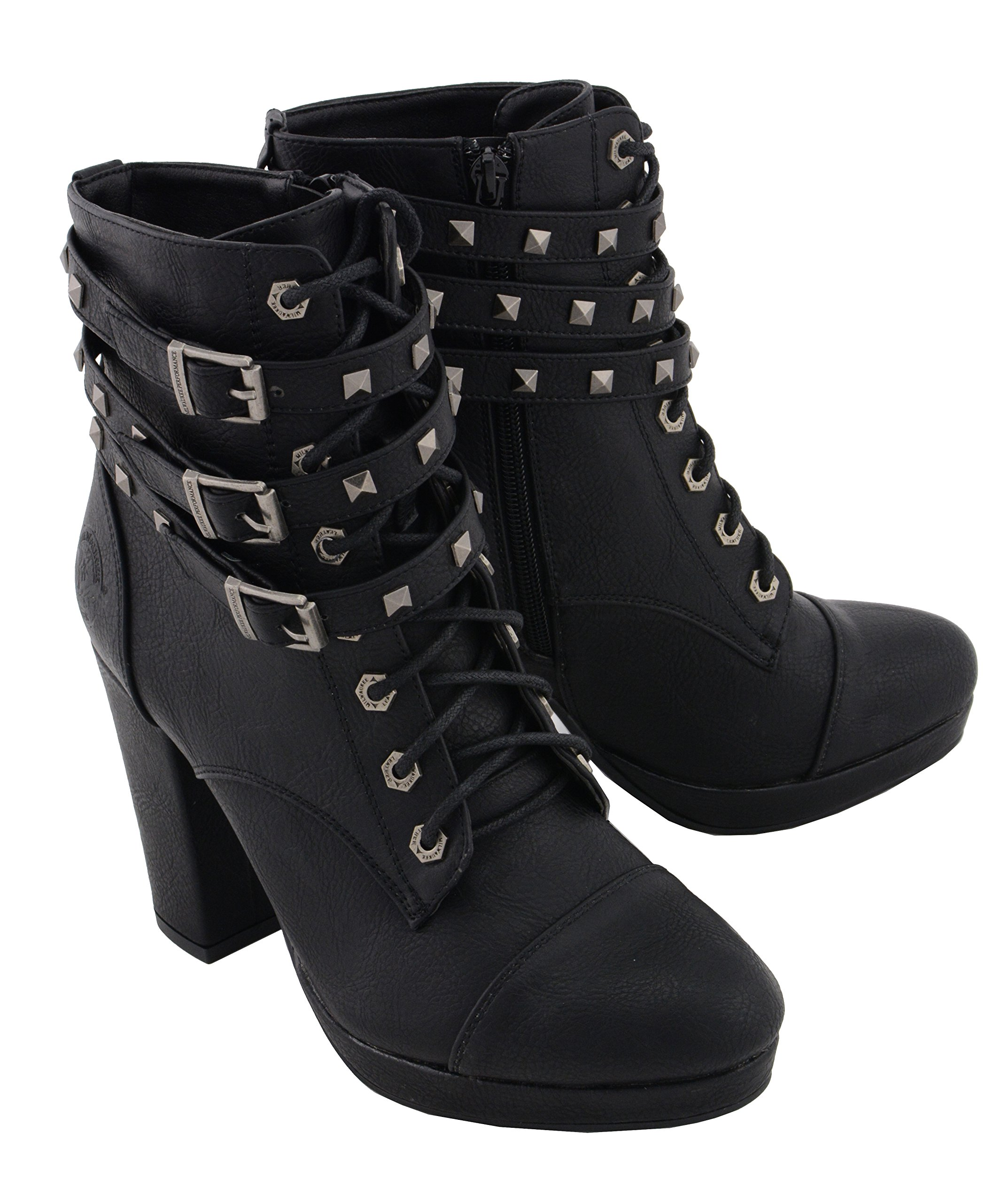 Milwaukee Performance Women's Lace to Toe Boot (Black, 9)