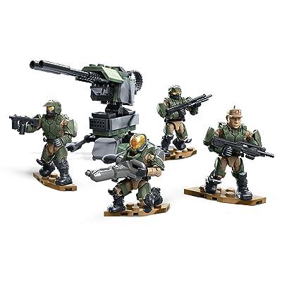 Mega Construx Halo UNSC Yankee Squad: Toys & Games