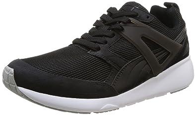 Puma Arial Evolution, Unisex Adults' Hi-Top Sneakers, Black (black-
