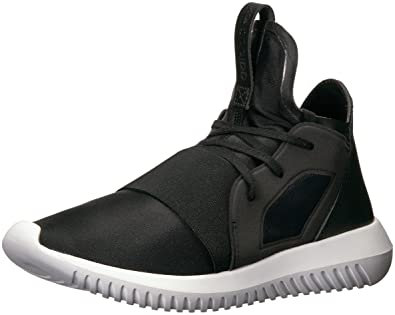 buy popular cb868 1a095 adidas Originals Women s Tubular Defiant Fashion Running Shoe, Black Core  White, 10 B