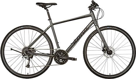 Kona Dew Plus - Bicicletas híbridas - gris Tamaño del cuadro 55 cm ...