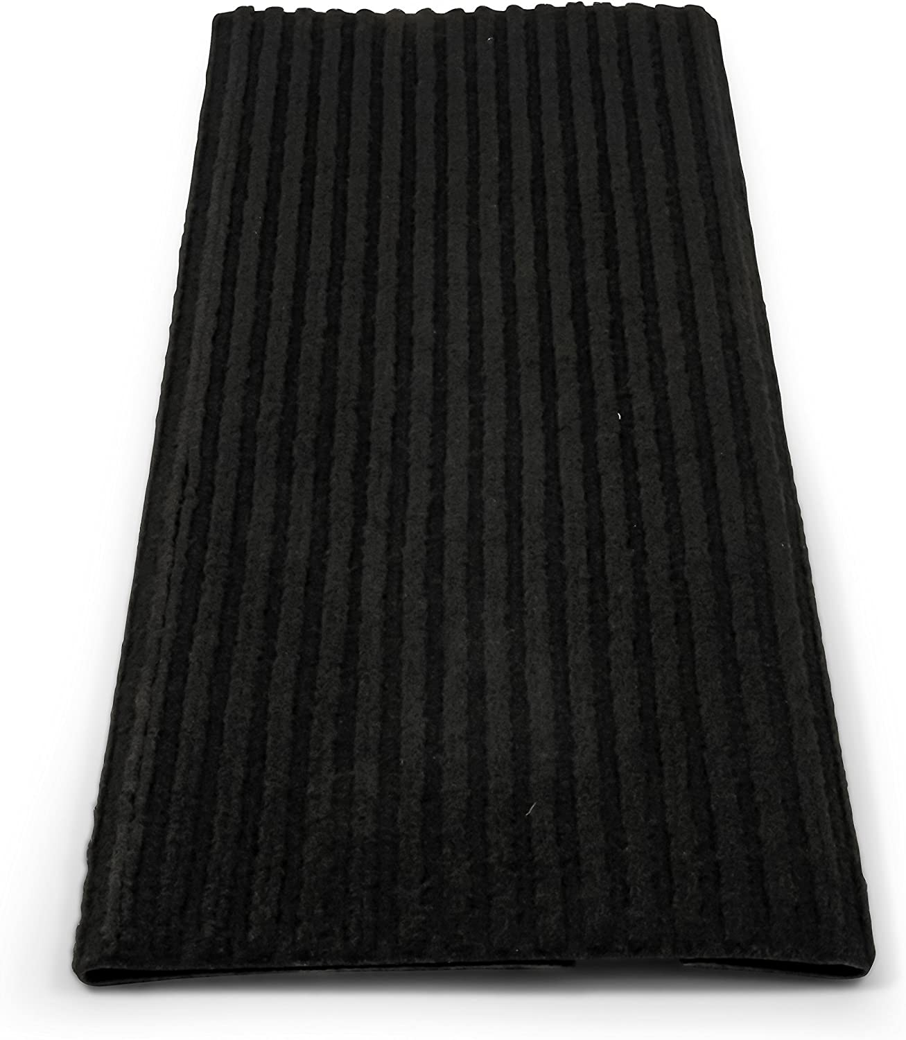 Premium Wrap Around Double Ribbed , 100/% Polyester Camco 42955 RV Step Rug 18 x 23 - Brown