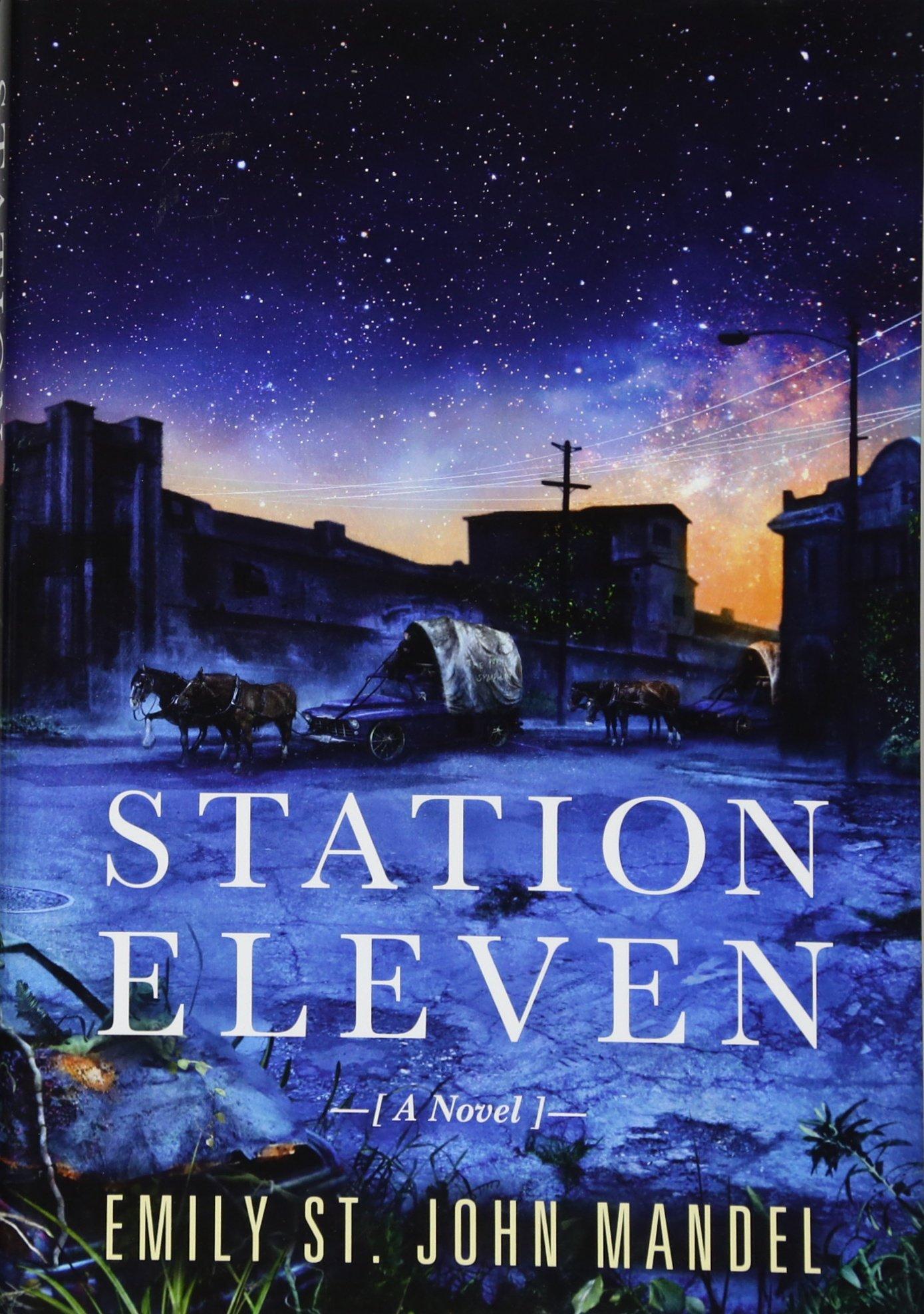 Station Eleven: Amazon.ca: Mandel, Emily St John, Chong, Vincent ...