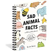Sad Animal Facts Weekly Planner 2021