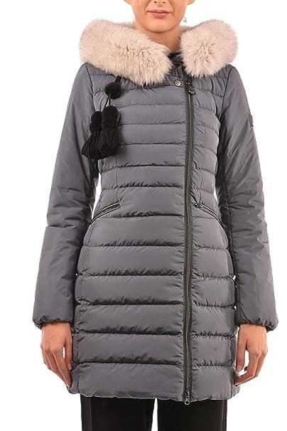2e842fd56907be Peuterey Piumino Donna Seriola 02 Fur Grigio PED3039-01191119  Autunno/Inverno 46: Amazon.it: Abbigliamento